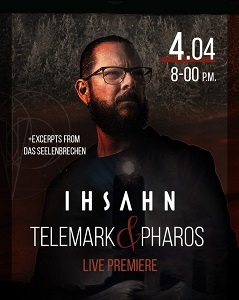 News CONCERTS IHSAHN: LIVESTREAM CONCERT ON APRIL 4TH